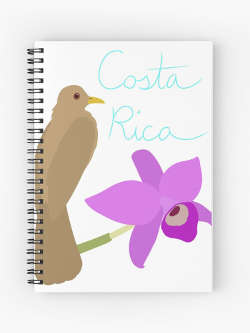 Costa Rica Stationery and Notebooks